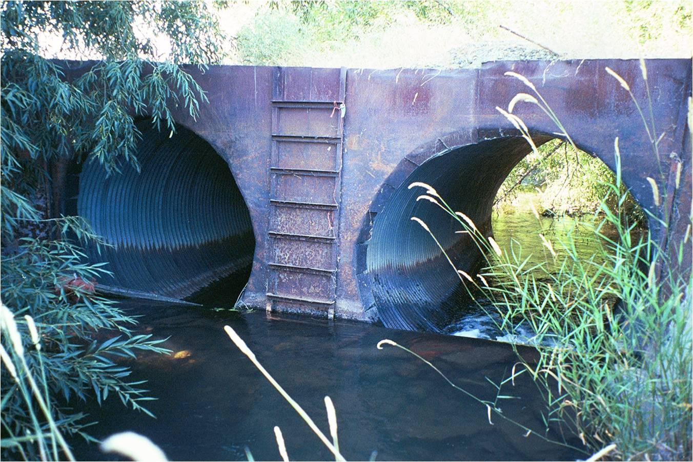 Original Irrigation Structure